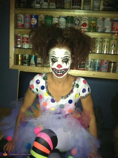 clown bright halloween costume coolest diy costumes
