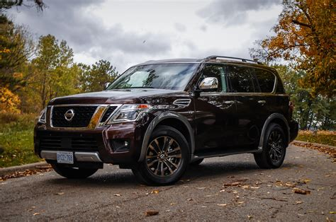 nissan armada platinum review 2017 nissan armada platinum canadian auto review
