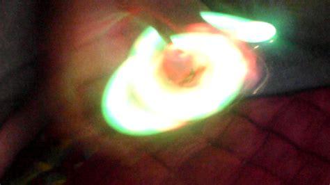 Fidget Spinner Bunga Pelangi 5 Sisi fidget spinner lu led