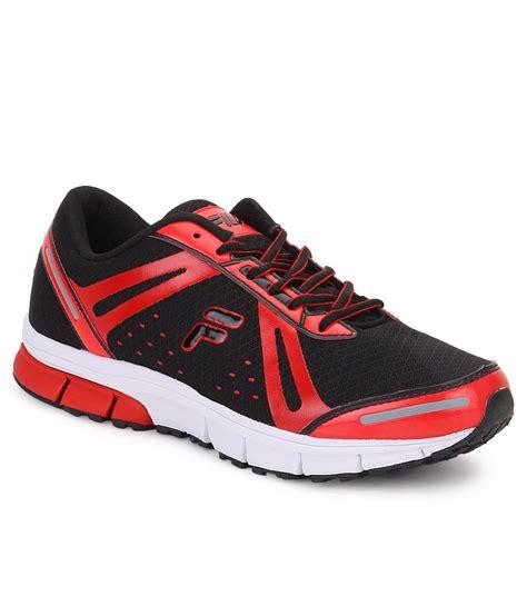sports plus shoes fila flex run plus black sports shoes buy fila flex run