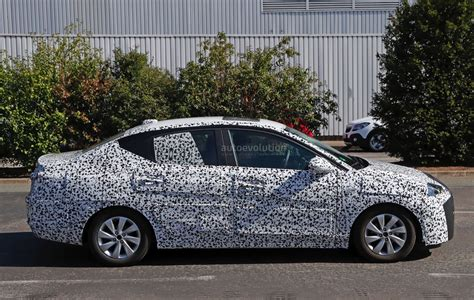 opel chevy 2018 opel corsa f sedan spied to be launched in china as