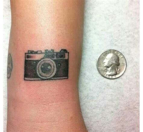 small camera tattoos small simple on arm tattoomagz