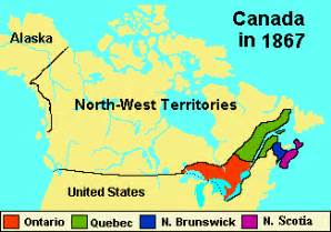 map of canada 1867 politics in canada in 1867 site for language management