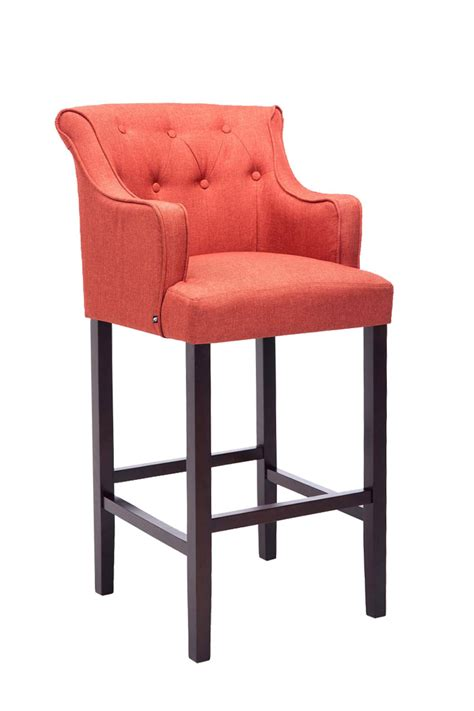 Kitchen Armchairs by Bar Stool Lykso Tweed Fabric Breakfast Kitchen Barstools