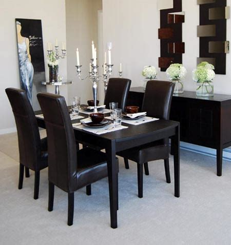 black and white dining rooms black and white dining room design