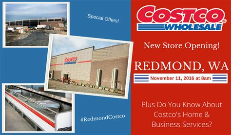 redmond costco opening costco s home and business services
