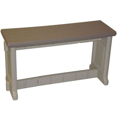 36 inch bench 36 inch plastic patio bench in outdoor benches