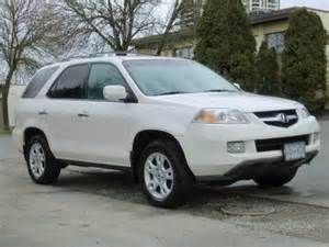 2004 Acura Mdx Suv White 2004 Acura Mdx Right Front Car Picture And New