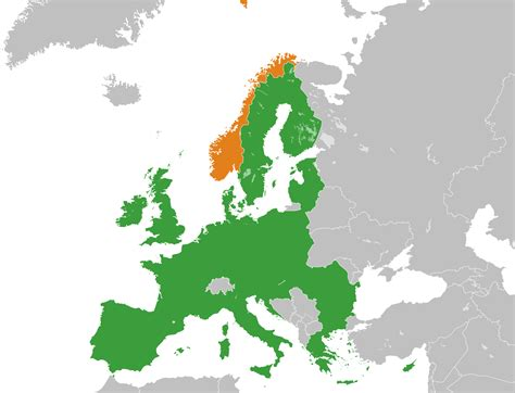norway europe norway european union relations wikipedia