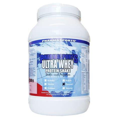 Whey Protein Shake pharmasports ultra whey protein shake bestellen