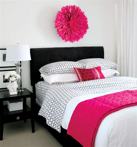 hot pink bedrooms hot pink design ideas