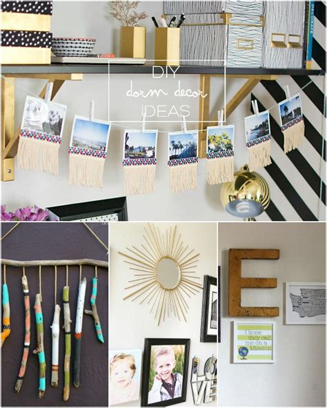 decor links diy dorm decor inspiration2 link party my fabuless life