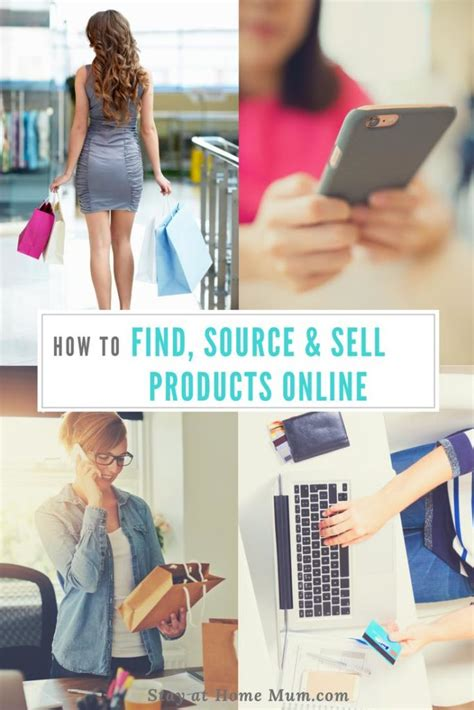 What Product Can I Sell Online To Make Money - how to find source and sell products online stay at home mum