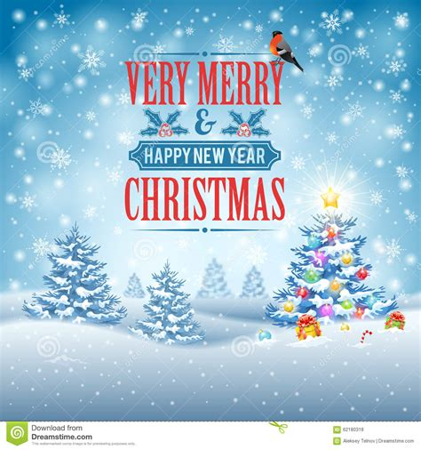 Christmas Background Stock Vector Image 62180318 Snowy Flyer Template