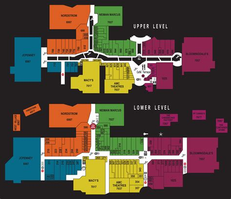 layout of fox valley mall mall map for fashion valley a simon mall located at san