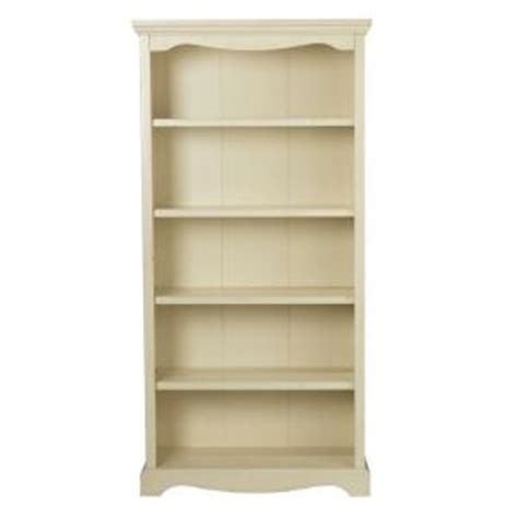 Open Bookshelf White Home Decorators Collection Sheffield Antique White 5 Shelf