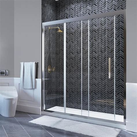ove bathtub doors shop ove decors granada 58 25 in to 59 in w frameless