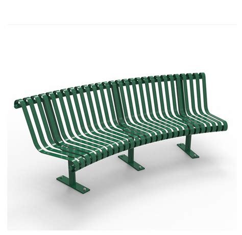 curved metal bench curved metal park bench cal 800c canaan