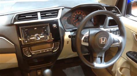 Honda New Brio Satya new honda brio satya e cvt