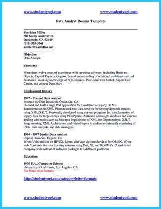 Sql Data Analyst Cover Letter by High Quality Data Analyst Resume Sle From Professionals How To Write A Resume In Simple Steps