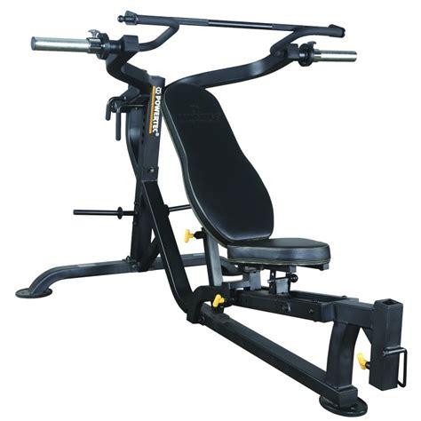 powertec bench press bench press shoulder press leverage bench press