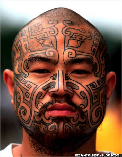 tribal facial tattoos 20 tattoos we actually appreciate tribal cheeks guff