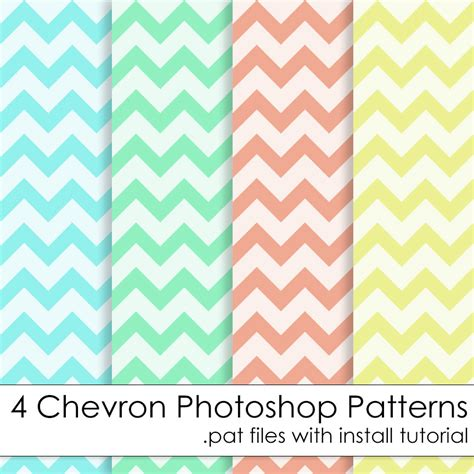 pattern photoshop chevron commercial use instant download chevron photoshop patterns in
