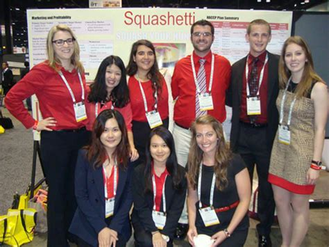 Leading Teams Mba Cornell by Food Science Students Savor Prize With Saucy Squashetti