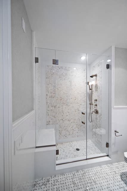 New York Shower Doors Beach House Beach Style Bathroom Other Metro By