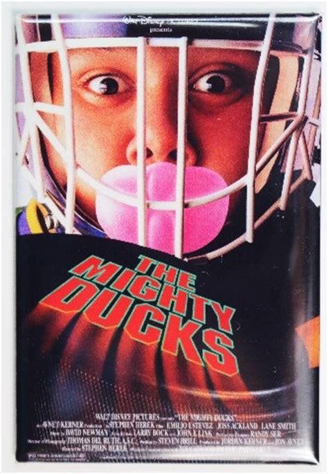 mighty ducks  poster fridge magnet disney sports