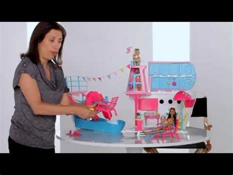 barbie ship videos barbie cruise ship esther levine youtube