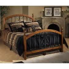 Rod Iron And Wood Bed Frames 1000 Images About Wrought Iron Beds On