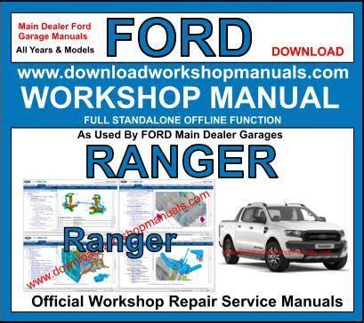 Ford Ranger Workshop Service Repair Manual