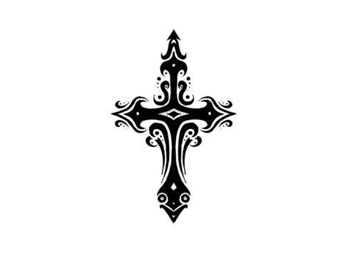 templar cross tattoo   clip art
