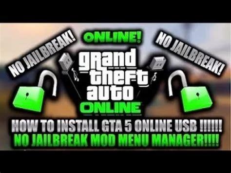 mod gta 5 online tutorial gta 5 online mod menu no jailbreak tutorial 1 27 youtube