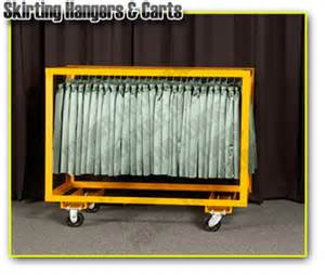 Table Linen Hangers Table Skirt Hangers Table Skirting Carts Commercial