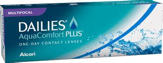 most comfortable multifocal contact lenses dailies 174 aquacomfort plus 174 multifocal contact lenses