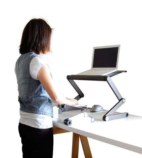 Uncaged Work Ez Standing Desk Converion Kit Ergonomics Fix Work Standing Desk