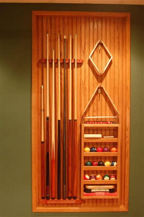 pool table cue rack billiard room cue rack by jim homerefurbers com