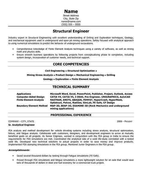 Sample Resume Objectives Maintenance by Mining Resume Templates Friv1k Com