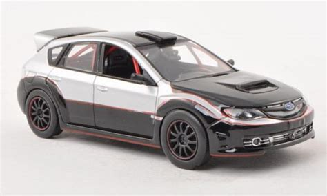Subaru Wrx Sti Fast Furious Series subaru impreza wrx sti black gray fast furious 2009 greenlight diecast model car 1 43 buy