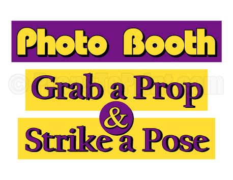 printable photo booth prop signs printable photo booth sign create diy props with our free
