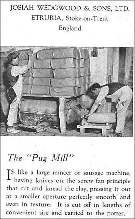 the pug mill pug mill operator pottery