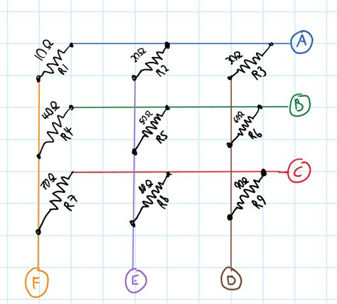 grid resistor values homework and exercises how to calculate the resistance of a resistors in a grid physics