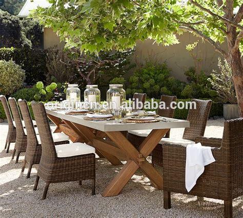 Table Patio En Bois by Abbott Patio Ext 233 Rieur De Zinc Top Rectangulaire Fixe En