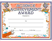 search results for science fair certificate template