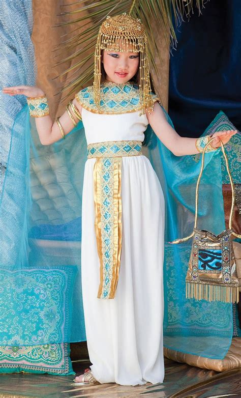 enchanting girls cleopatra costumes disfraces