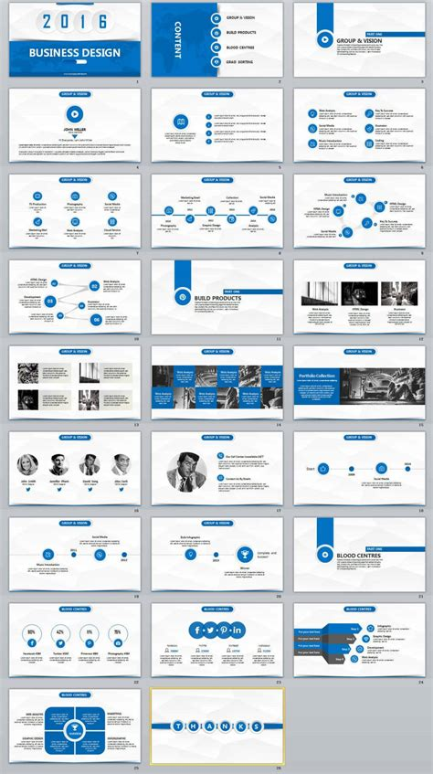 layout pptx powerpoint template design professional gallery