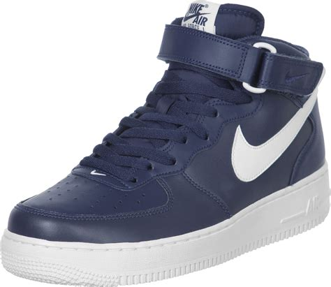 Nike Air Forco by Nike Air 1 Mid 07 Shoes Blue
