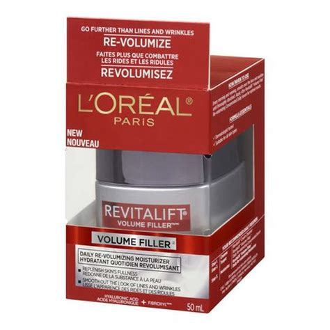 buy l oreal revitalift volume filler daily volumizing concentrated serum at well ca free l oreal revitalift volume filler anti aging day moisturizer with hyaluronic acid